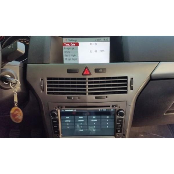 NAVIGATIE DEDICATA ANDROID Opel Zafira B WITSON W2-A9828L INTERNET 3G WIFI MIRRORLINK
