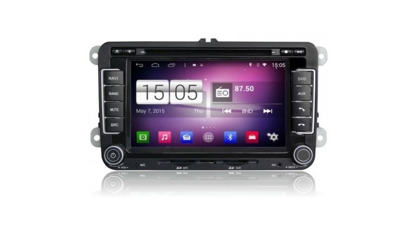 Navigatie dedicata Android VW EoS 2007- Model Edotec EDT-M305  Dvd Auto Multimedia Gps Bluetooth