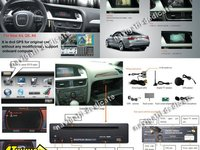 Navigatie Dedicata AUDI A5 DVD GPS CARKIT USB NAVD 7460