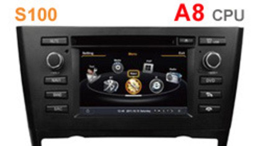 NAVIGATIE DEDICATA BMW SERIA 1 E81 E82 E83 E87 E88 EDOTEC EDT-C170 CLIMA AUTOMATA PLATFORMA S100