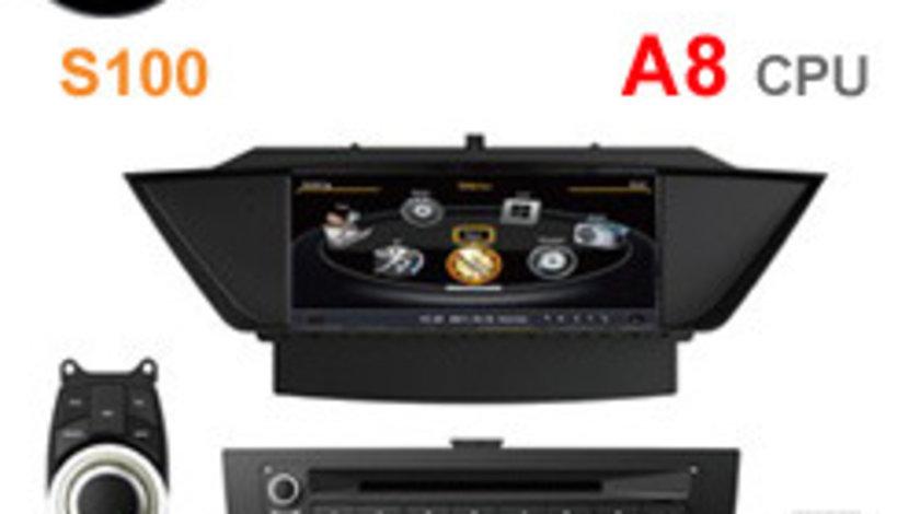 NAVIGATIE DEDICATA BMW X1 E84 EDOTEC EDT-C219 PLATFORMA S100 DVD GPS CARKIT OBD
