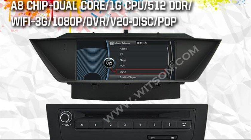 NAVIGATIE DEDICATA BMW X1 E84 PLATFORMA S100 WITSON W2 C219 PROCESOR DUAL CORE A8DVD GPS TV CARKIT