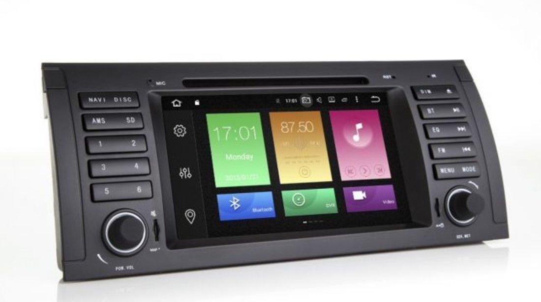 Navigatie Dedicata BMW X5 E53 QUAD CORE Carkit Internet NAVD-P082