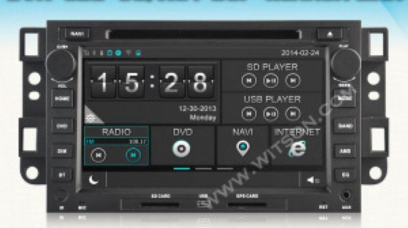 NAVIGATIE DEDICATA CHEVROLET AVEO CAPTIVA EPICA WITSON W2-D8421C WIN8 STYLE DVD PLAYER GPS TV CARKIT INTERNET 3G WIFI ECRAN CAPACITIV MODEL 2015