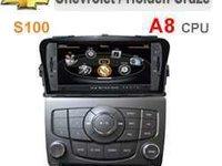 NAVIGATIE DEDICATA CHEVROLET CRUZE EDOTEC EDT C045 PLATFORMA S100 DVD PLAYER AUTO GPS TV CARKIT DVR