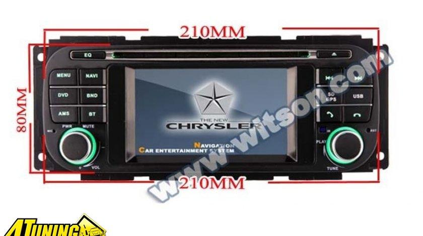 NAVIGATIE DEDICATA CHRYSLER / JEEP / DODGE MODEL WITSON W2-D8836C WIN8 STYLE DVD PLAYER GPS TV CARKIT INTERNET 3G/WIFI ECRAN CAPACITIV MODEL 2015