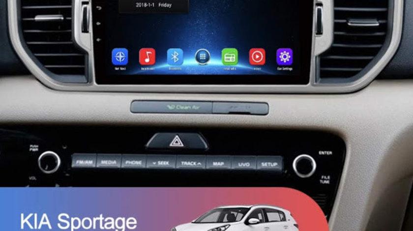 Navigatie Dedicata Cu Android Kia Sportage 2016 - 2017