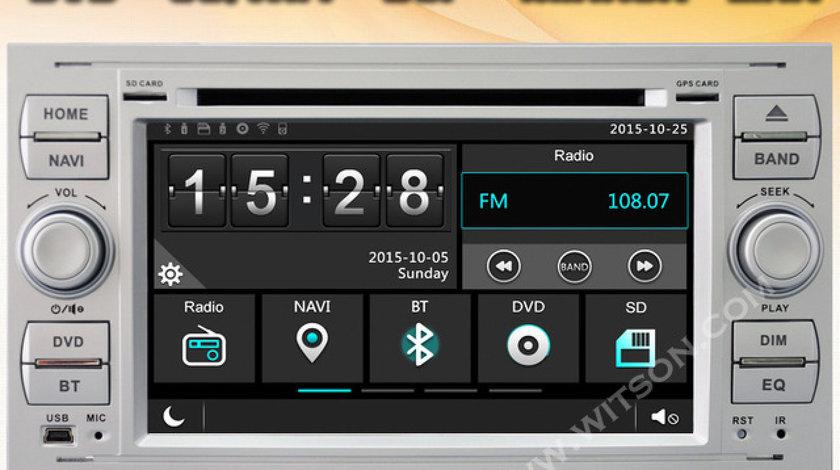 NAVIGATIE DEDICATA FORD FOCUS FIESTA FUSION KUGA S-MAX C-MAX TRANSIT TOURNEO WITSON W2-E8488FS C30