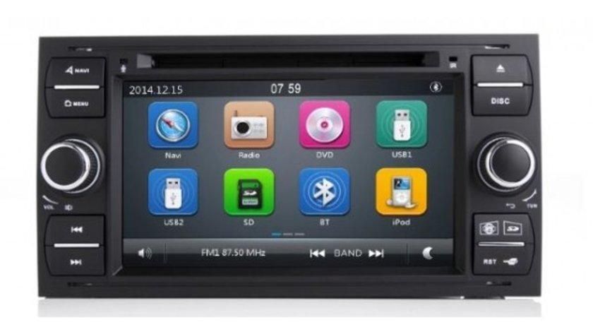 NAVIGATIE DEDICATA FORD GALAXY DVD PLAYER AUTO CU GPS CARKIT PRELUARE AGENDA TELEFONICA