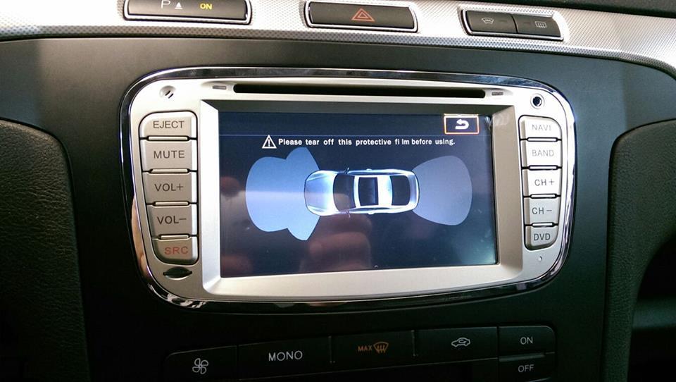 NAVIGATIE DEDICATA FORD MONDEO FOCUS 2 S-MAX GALAXY TOURNEO MODEL WITSON W2-M003S ANDROID