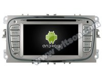 NAVIGATIE DEDICATA FORD MONDEO FOCUS 2 S-MAX GALAXY TOURNEO WITSON W2-M003S ANDROID 16GB 3G DVR WAZE