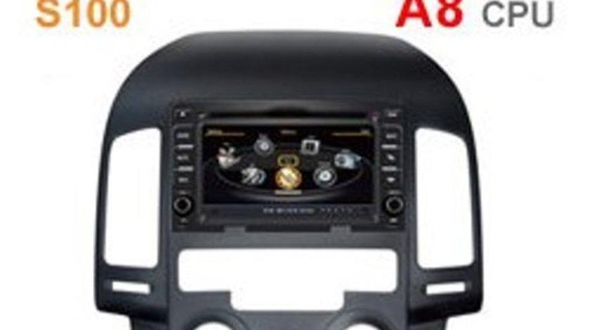NAVIGATIE DEDICATA HYUNDAI I30 2007 - 2012 CLIMA MANUALA EDOTEC EDT-C024 S100 DVD GPS TV CARKIT