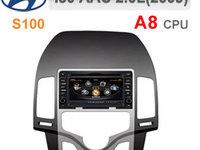 NAVIGATIE DEDICATA HYUNDAI I30 CLIMA AUTOMATA 2007 - 2011 WITSON W2-C043 PLATFORMA S100