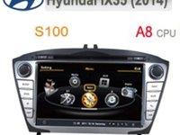 Navigatie Dedicata HYUNDAI IX35 2014 2015 Edotec EDT C361 Platforma S100 Dvd Auto Gps Tv Carkit