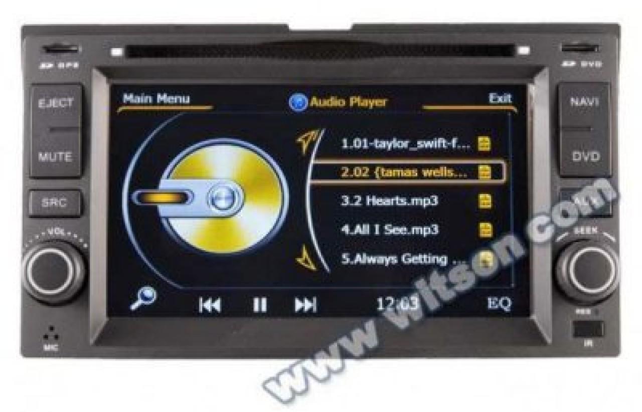 NAVIGATIE DEDICATA KIA CEED WITSON W2-C023 PLATFORMA S100 DVD GPS CARKIT BLUETOOTH