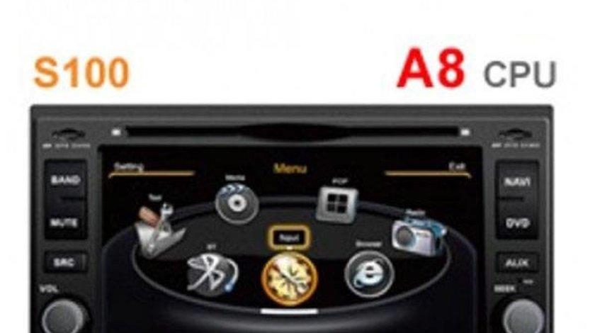 NAVIGATIE DEDICATA KIA PICANTO WITSON W2-C023 PLATFORMA S100 DVD GPS CARKIT BLUETOOTH