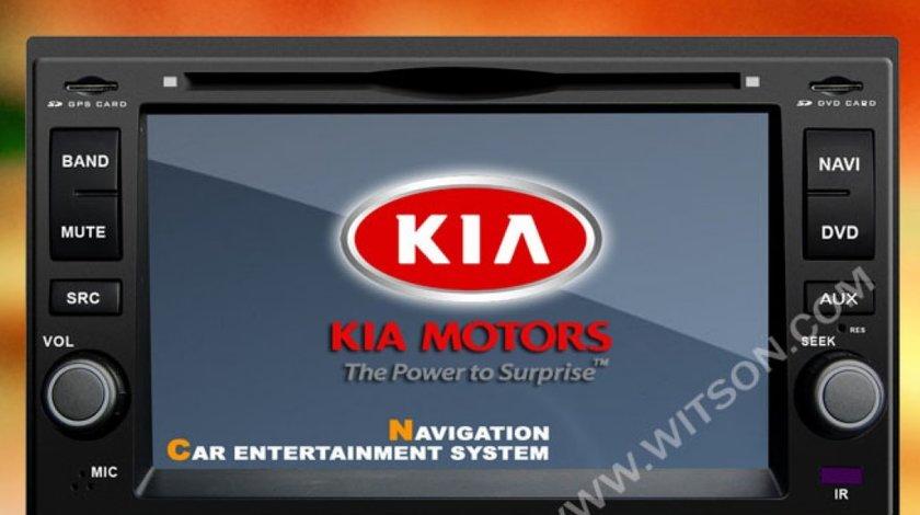 NAVIGATIE DEDICATA KIA RIO (2005-2011) WITSON W2-W023 PLATFORMA S200 DVD GPS