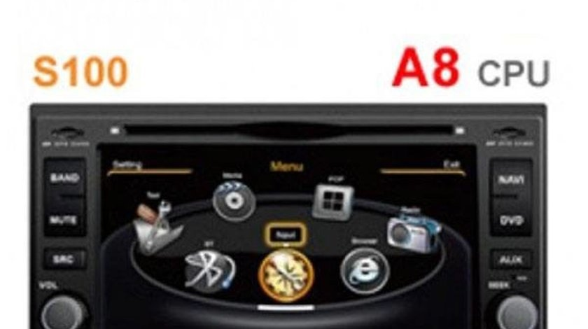 NAVIGATIE DEDICATA KIA ROND7 WITSON W2-C023 PLATFORMA S100 DVD GPS CARKIT BLUETOOTH