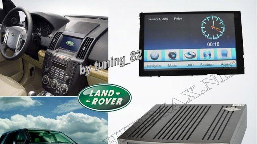 Navigatie Dedicata Land Rover DISCOVERY 3 Dvd Gps Tv Carkit Usb Divx Model 2012