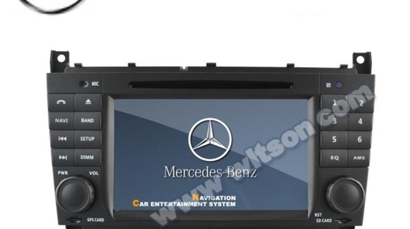 NAVIGATIE DEDICATA MERCEDES-BENZ CLASA C CLC W203 G CLASS W467 WITSON W2-D6517 DVD GPS TV CARKIT