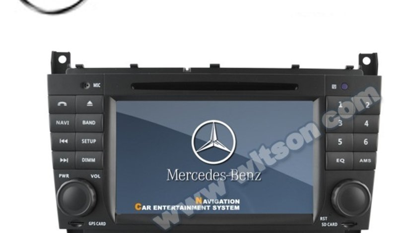 NAVIGATIE DEDICATA MERCEDES-BENZ CLASA C W203 2004 - 2007 WITSON W2-D6517 DVD GPS TV CARKIT