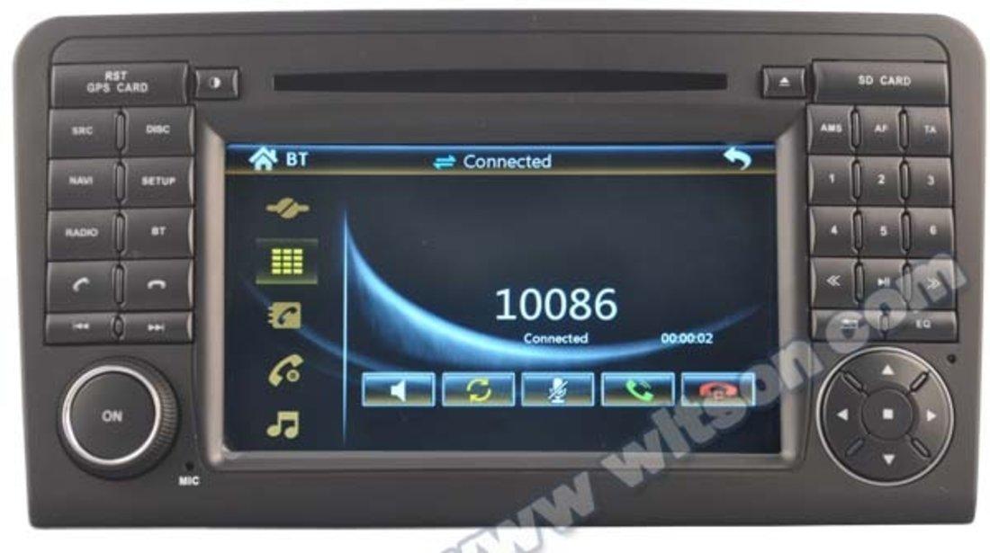 NAVIGATIE DEDICATA MERCEDES-BENZ ML W164 GL X164 WITSON W2-D6558 DVD GPS TV CARKIT PRELUARE AGENDA