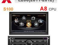 NAVIGATIE DEDICATA MITSUBISHI L200 HIGH WITSON W2-C094 PLATFORMA S100 PROCESOR DVD GPS CARKIT TV