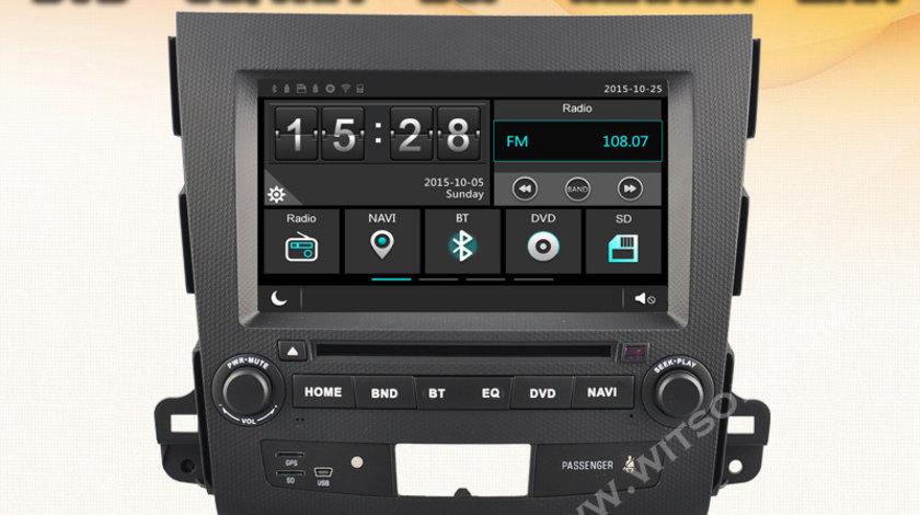 NAVIGATIE DEDICATA MITSUBISHI OUTLANDER PEUGEOT 4007 CITROEN C-CROSSER WITSON W2-E8848ZC DVD GPS DVR