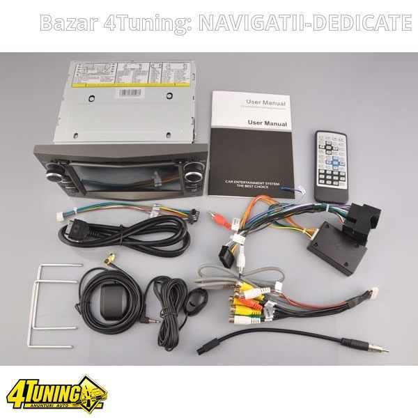 NAVIGATIE DEDICATA OPEL ANTARA WITSON W2-D8828LG RAMA GRI DVD GPS TV CARKIT CU PRELUARE AGENDA