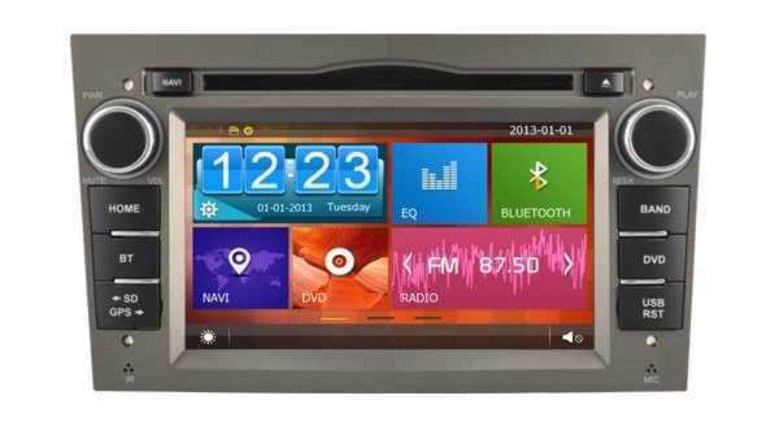 NAVIGATIE DEDICATA OPEL ASTRA H WITSON W2-D8828LG RAMA GRI DVD GPS TV CARKIT CU PRELUARE AGENDA
