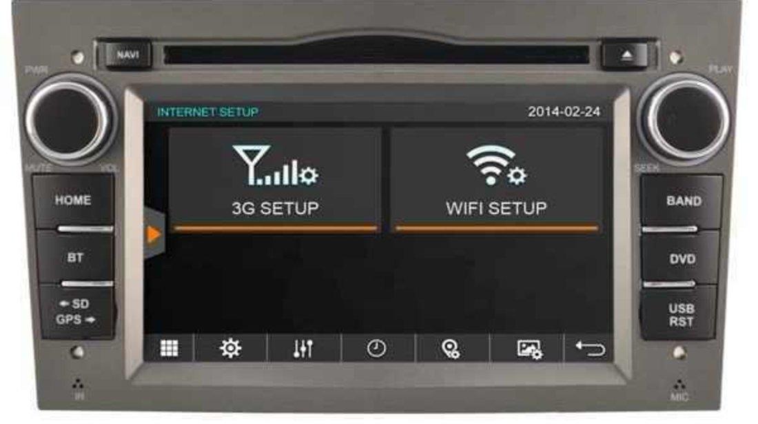 NAVIGATIE DEDICATA OPEL COMBO WITSON W2-D8828LG RAMA GRI DVD GPS TV CARKIT CU PRELUARE AGENDA