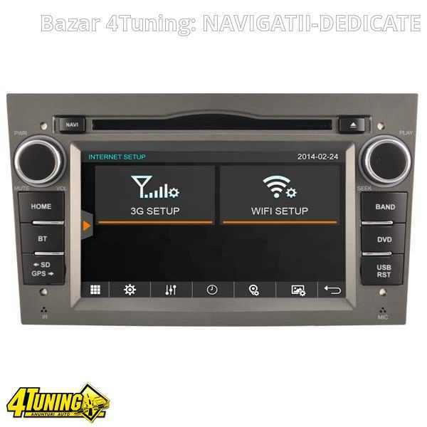 NAVIGATIE DEDICATA Opel Corsa C WITSON W2-D8828LG RAMA GRI DVD GPS TV CARKIT CU PRELUARE AGENDA