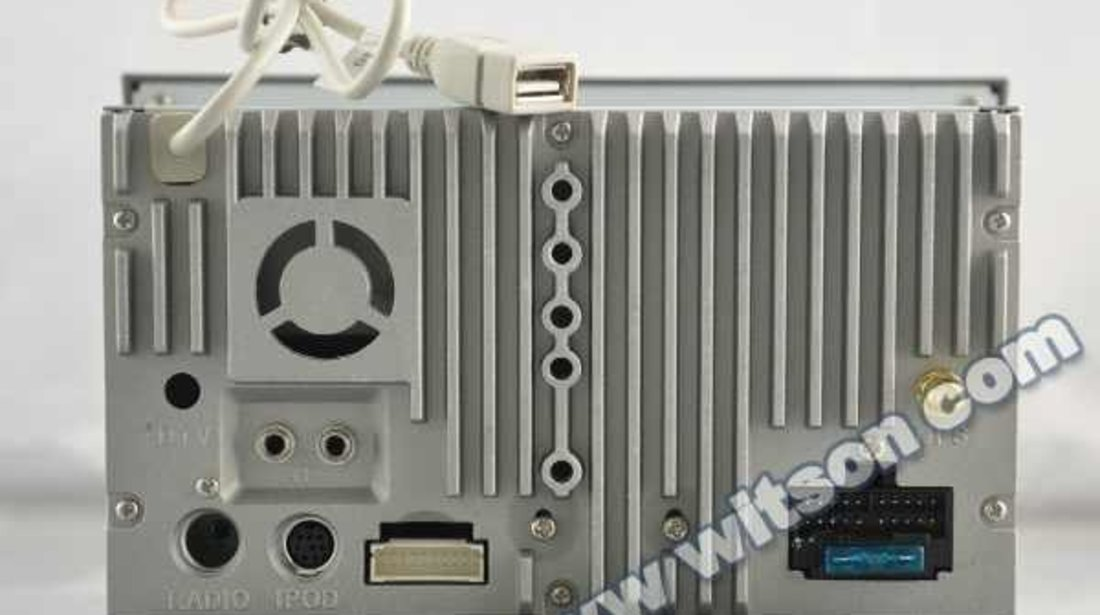 NAVIGATIE DEDICATA OPEL CORSA D WITSON W2-D8828LG RAMA GRI DVD GPS TV CARKIT CU PRELUARE AGENDA