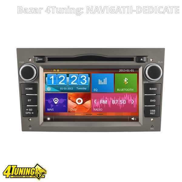 NAVIGATIE DEDICATA OPEL VECTRA WITSON W2-D8828LG RAMA GRI DVD GPS TV CARKIT CU PRELUARE AGENDA