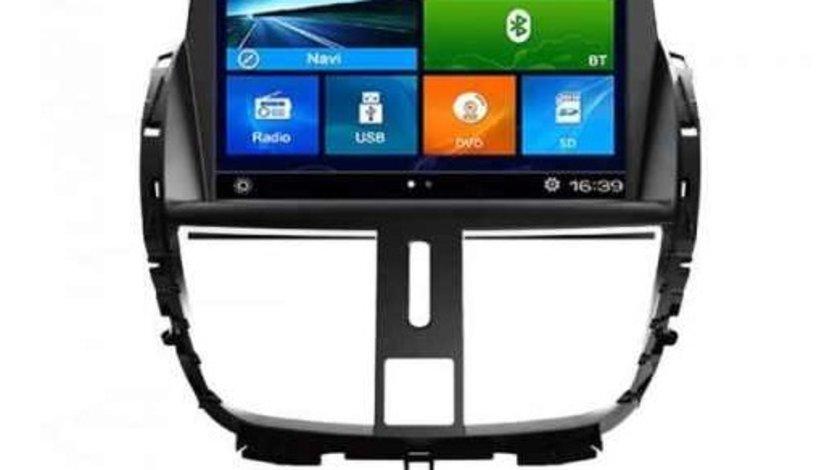 NAVIGATIE DEDICATA PEUGEOT 207 EDOTEC EDT-K207 PLATFORMA S90 WIN8 STYLE DVD GPS TV CARKIT DVR