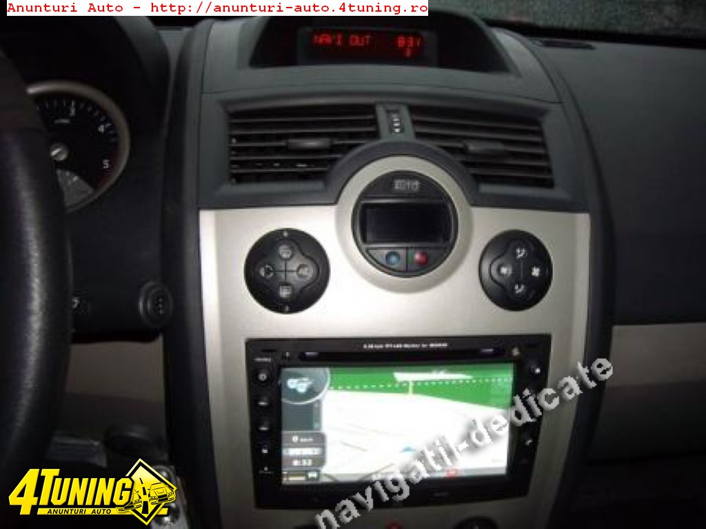 navigatie dedicata renault megane dvd gps carkit model 2011 73891. Black Bedroom Furniture Sets. Home Design Ideas