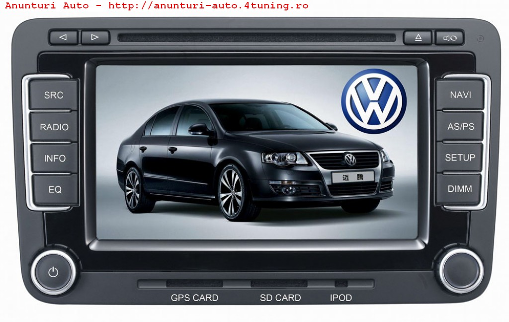 navigatie dedicata rns510 volkswagen vw passat dvd gps rez. Black Bedroom Furniture Sets. Home Design Ideas