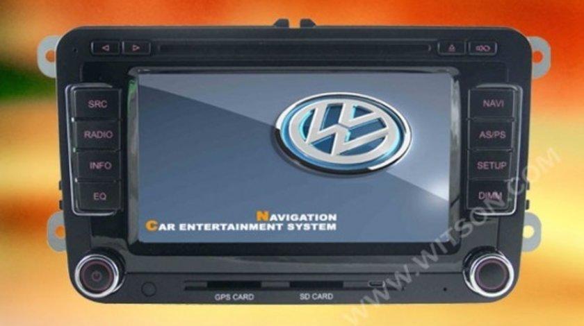 NAVIGATIE DEDICATA Skoda Octavia 2 Facelift W2-D723V DVD GPS TV CARKIT PRELUARE AGENDA TELEFONIC