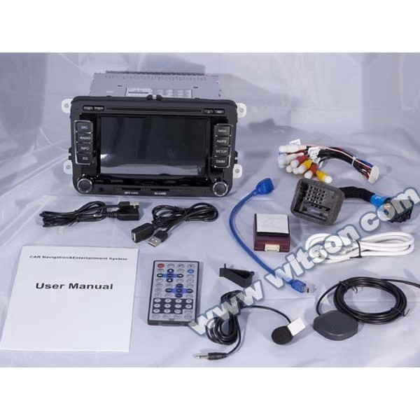 NAVIGATIE DEDICATA Skoda Octavia 2 WITSON W2-D723V DVD GPS TV CARKIT PRELUARE AGENDA TELEFONIC
