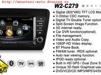 NAVIGATIE DEDICATA SKODA OCTAVIA 3 2013 WITSON W2 C279 PLATFORMA S100 PROCESOR DUAL CORE A8 1GHZ 512 DDR 2 DVD GPS TV DVR CARKIT PRELUARE AGENDA TELEFONICA