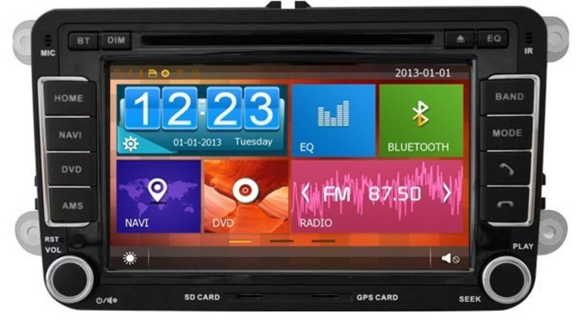 NAVIGATIE DEDICATA Skoda Superb II WITSON W2-D8240V PLATFORMA C36 WIN8 STYLE DVD PLAYER GPS TV