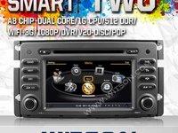 NAVIGATIE DEDICATA SMART FORTWO FORFOUR WITSON W2-C087 PLATFORMA S100 DVD GPS TV DVR CARKIT