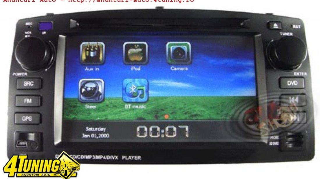 Navigatie Dedicata TOYOTA COROLLA VERSO Dvd Gps Tv Car Kit Usb Ipod Bluetooth