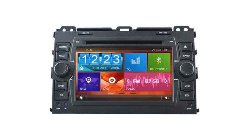 NAVIGATIE DEDICATA TOYOTA LAND CRUISER J120 PRADO NAVD-D8129T DVD PLAYER GPS CARKIT INTERNET 3G