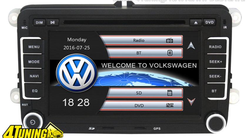 NAVIGATIE DEDICATA VOLKSWAGEN EOS NAVD-723V V4 DVD GPS CARKIT PRELUARE AGENDA TELEFONICA