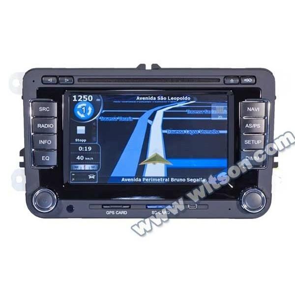 NAVIGATIE DEDICATA  Volkswagen Multivan WITSON W2-D723V DVD GPS TV CARKIT PRELUARE AGENDA TELEFONIC
