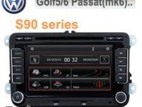 NAVIGATIE DEDICATA VOLKSWAGEN SKODA SEAT PLATFORMA S90 WIN8 STYLE DVD GPS TV CARKIT PRELUARE AGENDA TELEFONICA MODEL 2015