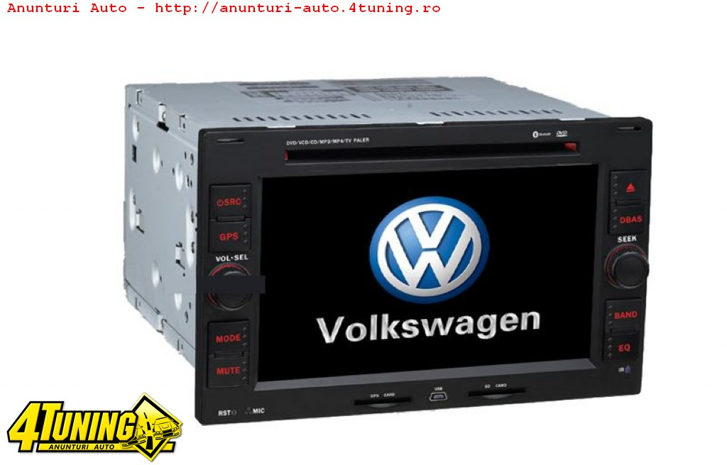 navigatie dedicata volkswagen vw polo dvd gps tv rez. Black Bedroom Furniture Sets. Home Design Ideas