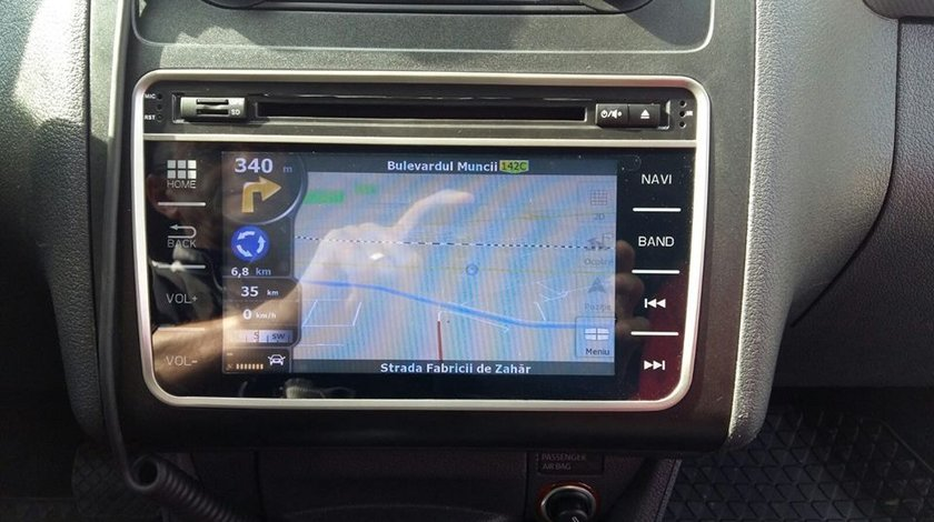 NAVIGATIE DEDICATA VW Amarok 2010 - MODEL WITSON W2-E8246V PLATFORMA C30 ECRAN CAPACITIV 7''
