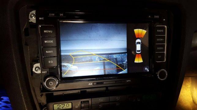 Navigatie Dedicata VW Caddy Dvd Gps Carkit Usb NAVD-723V V5